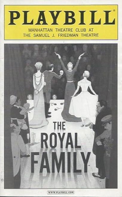 The Royal Family (Play), Rosemary Harris, Eva LeGallienne, Ellis Rabb, Sam Levene, Helen Hayes Theatre