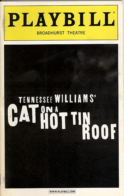 Cat on a Hot Tin Roof is a play by Tennessee Williams. One of Williams's best-known works and his personal favorite, the play won the Pulitzer Prize for Drama in 1955