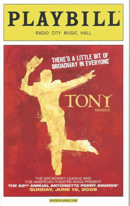 Tony Awards 2008 Edition, Host Whoopi Goldberg, August Osage County, Rock n Roll, The Seafarer, The 39 Steps