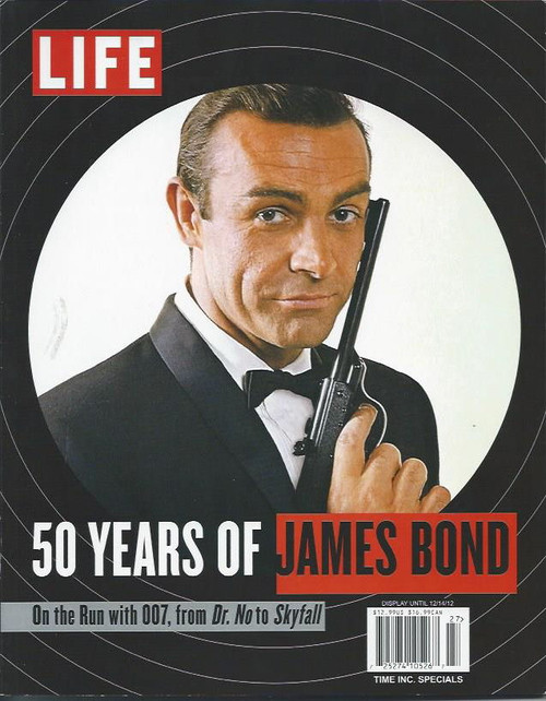 Life Magazine James Bonds 50 Years Sean Connery, Rodger Moore, Timothy Dalton Souvenir Full Life Magazine