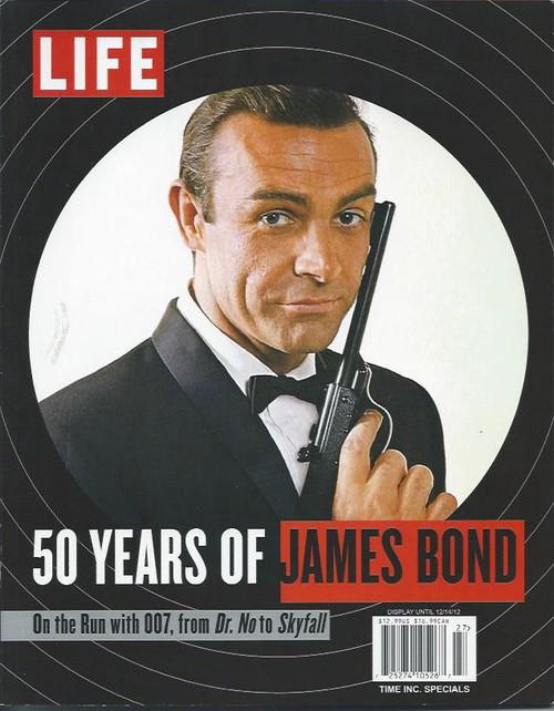 Life Magazine James Bonds 50 Years Sean Connery, Rodger Moore, Timothy Dalton Souvenir Full Life Magazine