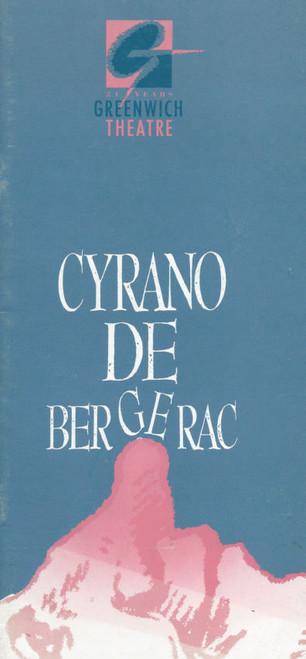Cyrano De Bergerac  (Play) Colin Farrell, Christopher Kent, Jason Connery, Jemma Redgrave Souvenir Program / Playbill Greenwich Theatre London UK Production
