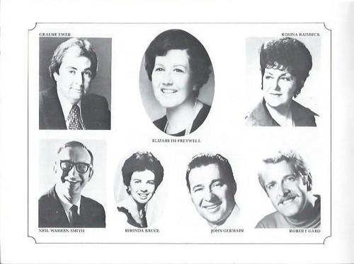 Albert Herring (Opera) Elizabeth Fretwell, Heather Begg, Rhonda Bruce, John Germain Souvenir Program The Australian Opera 1979 Australian Tour