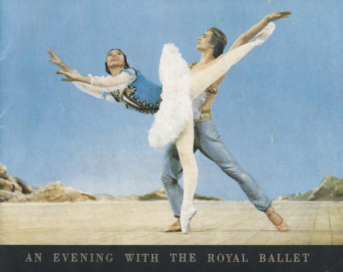 An Evening with the Royal Ballet (Film) Margot Fonteyn, Rudolph Nureyev Souvenir Program  British Empire Films 1962