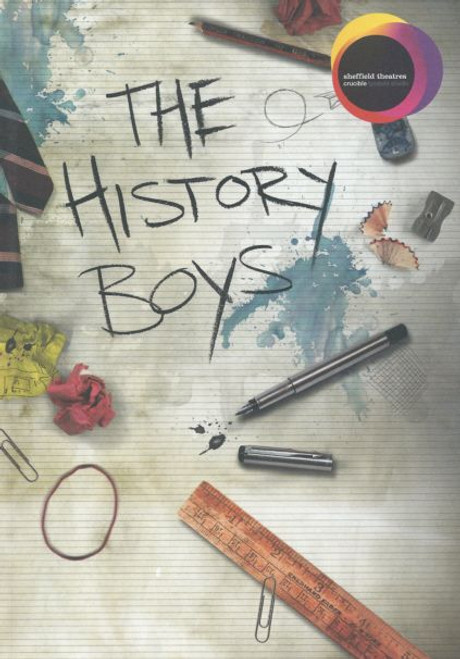 The History Boys (Play) Edwin Thomas, Matthew Kelly, Oliver Coopersmith, Tom Rhys Harries Program Sheffield Theatres Crucible UK 2013