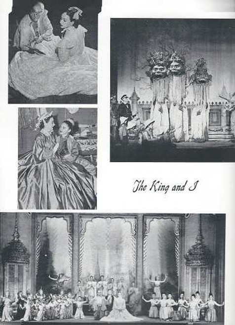 The King and I - Rodgers and Hammerstein, Patricia Morison, Leonard Graves, Terry Saunders, Suzanne Lake, Patrick Adiarte, Alfred Cibelli Jr., Ken Remo, Jeff Hall, Fairfax Burgher, Bettina Dearborn, Mavis Ray, Souvenir Brochure