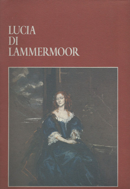 Lucia Di Lammermoor (Opera) Australian Opera Company Souvenir  Brochure 1983 Sydney Opera House