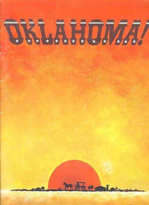 Oklahoma (Musical) 1982 Australian Tour - John Diedrich, Henri Szeps, Kay Eklund, Robin Harrison, Peter Bishop, Donna Lee, Clive Hearne,Neil Melville, Jacqueline Handley, Jo-anne Robinson, Anthony Ryvers, Sally Butterfiels, Brisbane, australia