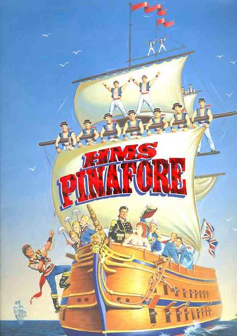 HMS Pinafore (Opera) Jon English, Simon Gallaher, Drew Forsythe, Amanda Muggleton 1997  State Theatre Melbourne Australian