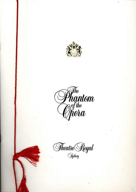 The Phantom of the Opera (Musical) Rob Guest, Danielle Everett, Dale Burridge 1994 Australian Production Sydney