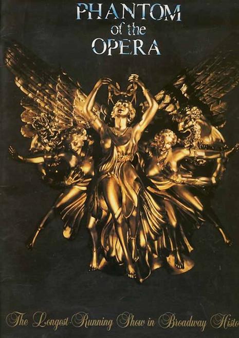 The Phantom of the Opera (Musical) Hugh Panaro, Trista Moldovan, Kyle Barisich Aug 2011  Broadway Production