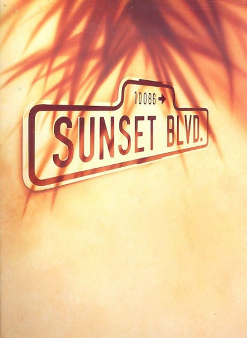 Sunset Boulevard (Musical) 1993 London Production Patti LuPone, Kevin Anderson, Daniel Benzali, Meredith Braun 1st Edition - Souvenir Brochure 1993 UK Production at the Adelphi Theatre London