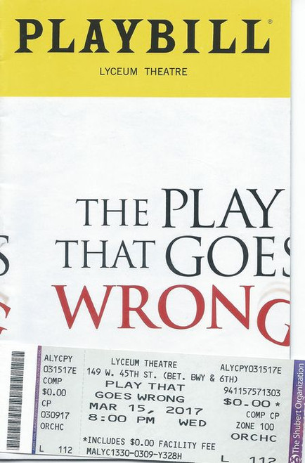 The Play That Goes Wrong - 2