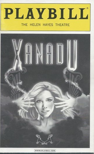 Xanadu is a musical comedy with a book by Douglas Carter Beane, music and lyrics by Jeff Lynne and John Farrar, based on the 1980 cult classic film of the same name which was, in turn, inspired by the 1947 Rita Hayworth film Down to Earth. The title is a reference to the poem, Kubla Khan, or A Vision in a Dream. A Fragment, by Samuel Taylor Coleridge. Xanadu is the name of the Chinese province where Khan establishes his pleasure garden in the poem.