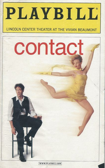 Contact is made up of three separate dance pieces, each set to pre-recorded music from the likes of Tchaikovsky, Stephane Grappelli, the Squirrel Nut Zippers, Royal Crown Revue, and The Beach Boys.