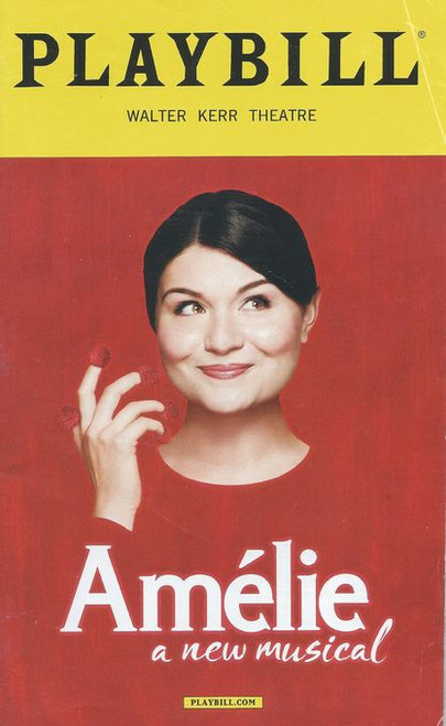 Amélie is a musical based on the 2001 romantic comedy film with music by Daniel Messé, lyrics by Messé and Nathan Tysen and a book by Craig Lucas.