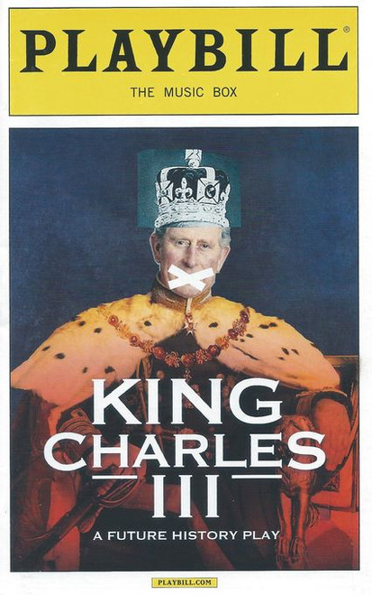 King Charles III is a 2014 play in blank verse by Mike Bartlett. It was premiered at the Almeida Theatre, London, in April 2014 and centres on the accession and reign of King Charles III of the United Kingdom