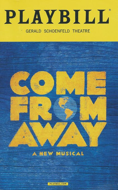 Come From Away is a musical with book, music, and lyrics by Irene Sankoff and David Hein. It is set in the town of Gander, Newfoundland, in the week following the September 11 attacks, when 38 planes were ordered to land unexpectedly in the small town as part of Operation Yellow Ribbon
