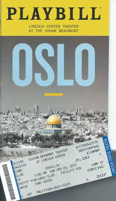 """Ben Brantley of The New York Times calls OSLO """"the stuff of crackling theater."""" Now, this sweeping and surprisingly funny new play comes to Broadway following its sold-out Off-Broadway run"""