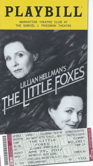 """The Little Foxes is a 1939 play by Lillian Hellman. Its title comes from Chapter 2, Verse 15 in the Song of Solomon in the King James version of the Bible, which reads, """"Take us the foxes, the little foxes, that spoil the vines: for our vines have tender grapes."""""""