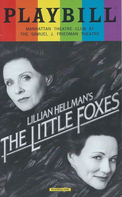 "The Little Foxes is a 1939 play by Lillian Hellman. Its title comes from Chapter 2, Verse 15 in the Song of Solomon in the King James version of the Bible, which reads, ""Take us the foxes, the little foxes, that spoil the vines: for our vines have tender grapes."""