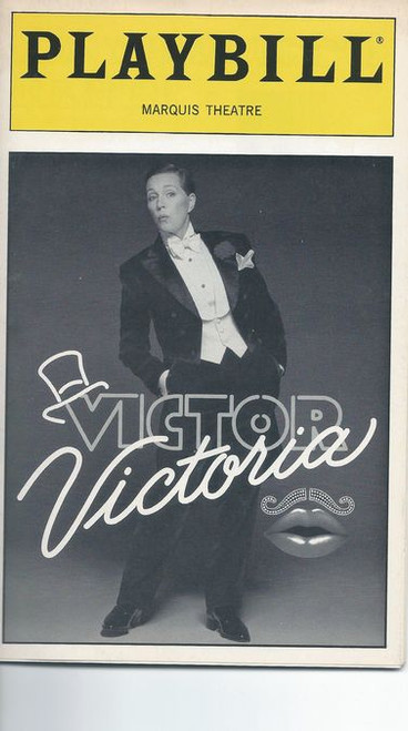 Victor/Victoria is a musical with a book by Blake Edwards, music by Henry Mancini, lyrics by Leslie Bricusse and additional musical material (music and lyrics) by Frank Wildhorn
