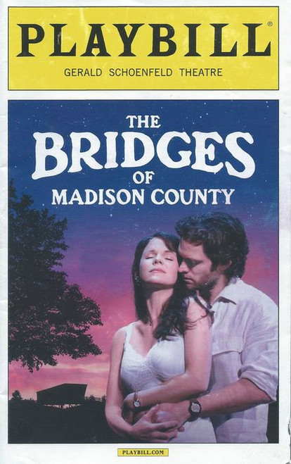 The Bridges of Madison County Musical is a 1992 best-selling novel by Robert James Waller which was also adapted into a 1995 film of the same name, adapted by Richard LaGravenese and directed by Clint Eastwood