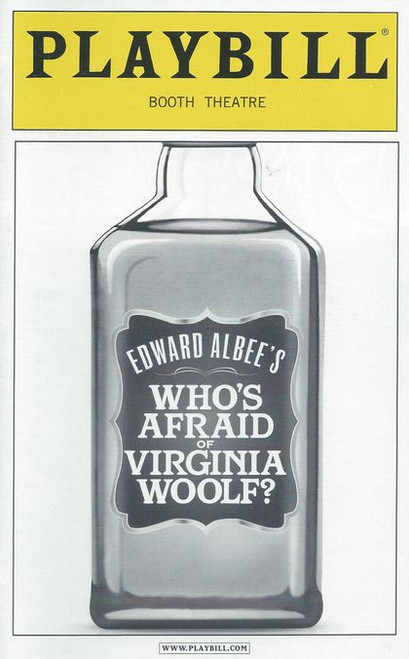 Who's Afraid of Virginia Woolf? is a play by Edward Albee that opened on Broadway at the Billy Rose Theater on October 13, 1962. The original cast featured Uta Hagen as Martha, Arthur Hill as George, Melinda Dillon as Honey and George Grizzard as Nick.