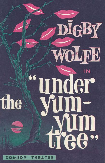 """Under the Yum Yum Tree (Play) Digby Wolfe,Melissa Jaffer Comedy Theatre  Melbourne   Playbill / Program (1962)Howard Taubman writes:""""Hogan is the landlord who occupies the apartment next door."""