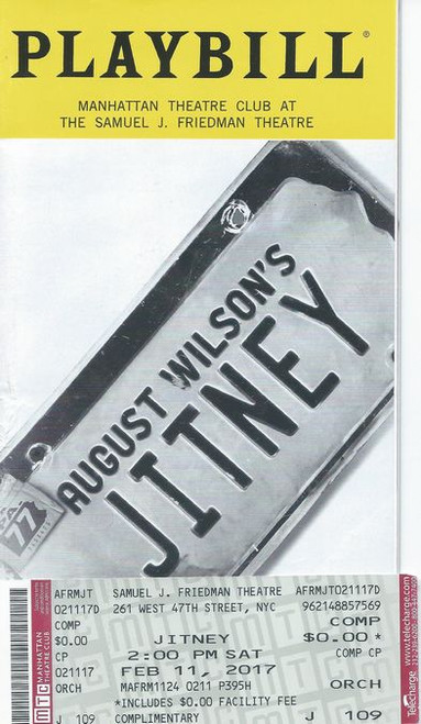 """Jitney is a play by August Wilson. The eighth in his """"Pittsburgh Cycle"""", this play is set in a worn-down gypsy cab station in Pittsburgh"""