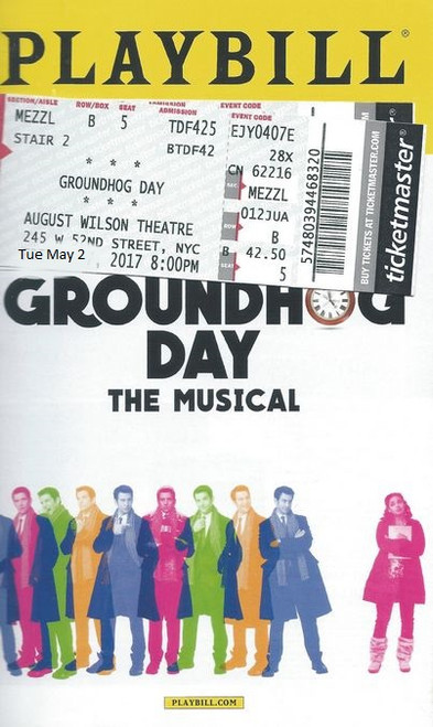 Groundhog Day is a musical comedy with music and lyrics by Tim Minchin, and a book by Danny Rubin.