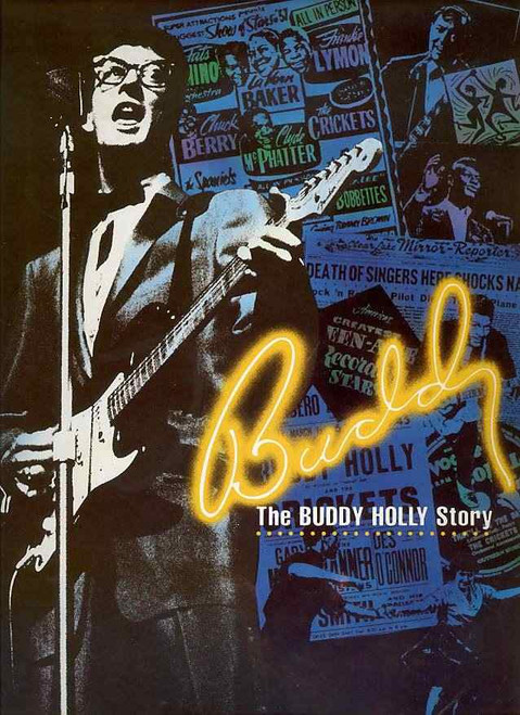 The Buddy Holly Story is a jukebox musical in two acts with a book co-written by Alan Janes and Rob Bettinson, and music and lyrics by a variety of songwriters.
