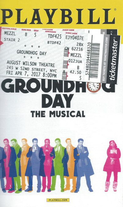 Groundhog Day is a musical comedy with music and lyrics by Tim Minchin, and a book by Danny Rubin. Based on the 1993 film of the same name written by Rubin and Harold Ramis