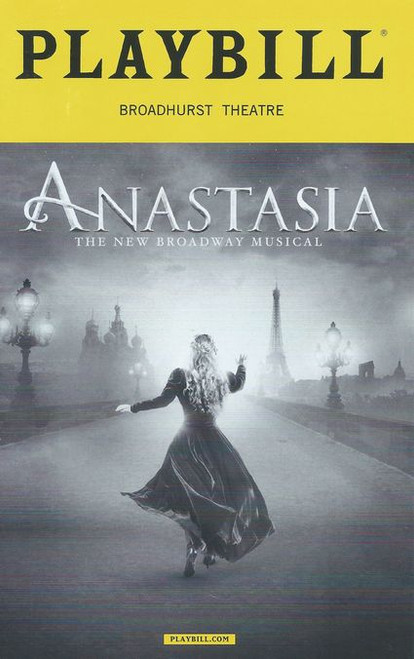 Anastasia is a musical with music and lyrics by Lynn Ahrens and Stephen Flaherty, and a book by Terrence McNally. Based on the 1997 film of the same name, the musical tells the story of the legend of Grand Duchess Anastasia Nikolaevna of Russia