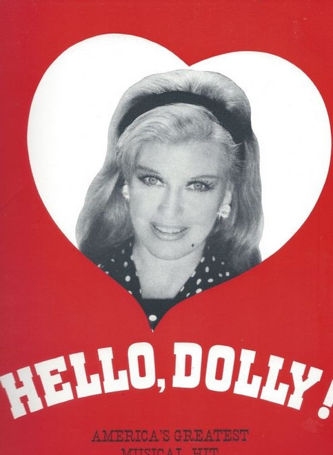 Souvenir Brochure Hello, Dolly! is a musical with lyrics and music by Jerry Herman and a book by Michael Stewart, based on Thornton Wilder's 1938 farce The Merchant of Yonkers