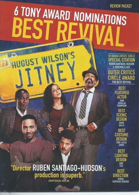 "Jitney is a play by August Wilson. The eighth in his ""Pittsburgh Cycle"", this play is set in a worn-down gypsy cab station in Pittsburgh, Pennsylvania, in early autumn 1977."