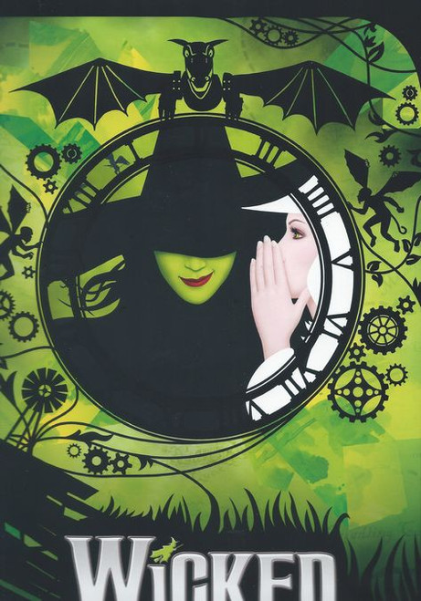 Wicked is a musical with music and lyrics by Stephen Schwartz and a book by Winnie Holzman. The story is loosely based on the novel Wicked: The Life and Times of the Wicked Witch of the West by Gregory Maguire