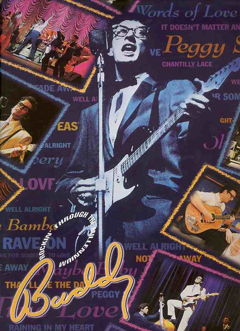 Buddy – The Buddy Holly Story is a jukebox musical in two acts with a book co-written by Alan Janes and Rob Bettinson, and music and lyrics by a variety of songwriters.