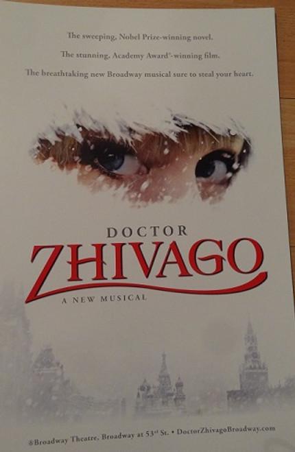 Doctor Zhivago (Musical) Broadway 2015  Kelli Barrett, Lora Lee Gayer, Tom Hewitt, Tam Mutu,Paul Alexander Nolan, Jacqueline Antaramian, Sophia Gennusa,Jonah Halperin