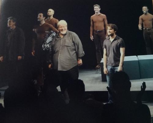 Equus 2008 Broadway - Broadhurst Theatre Daniel Radcliffe,Richard Griffiths