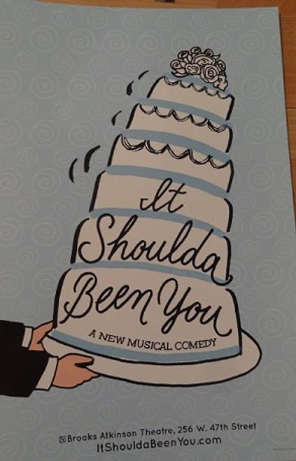 It Should Have Been You (Musical) Poster, Starring: Tyne Daly, Harriet Harris, Lisa Howard, Sierra Boggess, David Burtka, Montego Glover, Nick Spangler