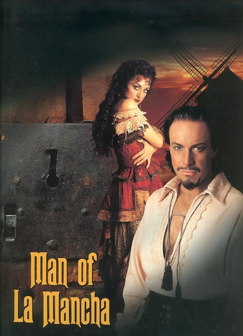 Man of La Mancha is a musical with a book by Dale Wasserman, lyrics by Joe Darion and music by Mitch Leigh. It is adapted from Wasserman's non-musical 1959 teleplay