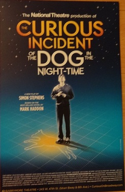 The Curious Incident of the Dog in the Night Time, Poster, Windowcard, National Theatre Production Broadway 2014