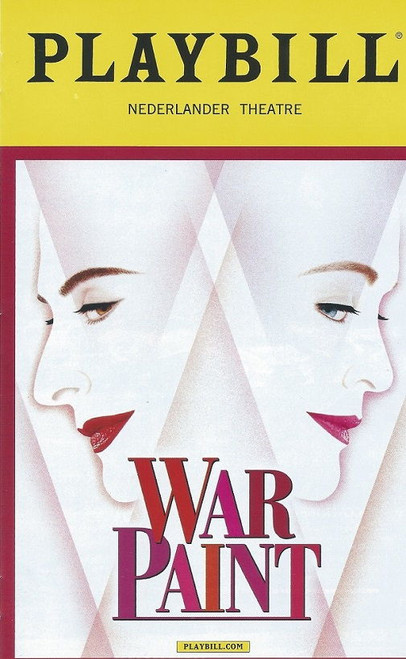 War Paint is a musical with book by Doug Wright, music by Scott Frankel, and lyrics by Michael Korie, based both on Lindy Woodhead's 2004 book War Paint and on the 2007 documentary film