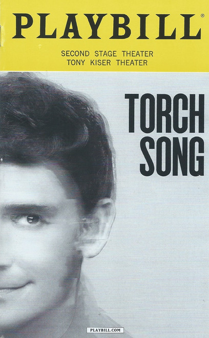 Torch Song (Oct 2017) Playbill Michael Urie, Jack Difalco, Ward Horton, Roxanna Hope Radja, Michael Rosen, Mercedes Ruehl – 2nd Stage