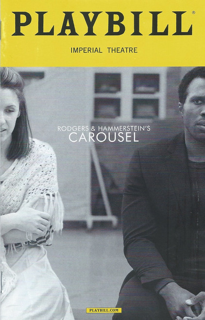 Carousel - Broadway (Playbill March 2018) Carousel was the second stage musical by the team of Richard Rodgers (music) and Oscar Hammerstein II (book and lyrics). The 1945 work was adapted from Ferenc Molnár's 1909 play Liliom, transplanting its Budapest setting to the Maine coastline. The story revolves around carousel barker Billy Bigelow, who marries millworker Julie Jordan at the price of both their jobs, and his doomed attempt to provide for Julie and their unborn child by attempting a robbery.