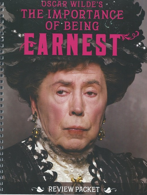 The Importance of Being Earnest, A Trivial Comedy for Serious People is a play by Oscar Wilde. First performed on 14 February 1895 at St. James's Theatre in London, it is a farcical comedy in which the protagonists maintain fictitious personae in order to escape burdensome social obligations.