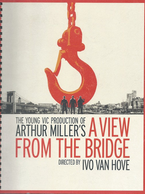 A View from the Bridge is a play by American playwright Arthur Miller, first staged on September 29, 1955 as a one-act verse drama with A Memory of Two Mondays at the Coronet Theatre on Broadway.