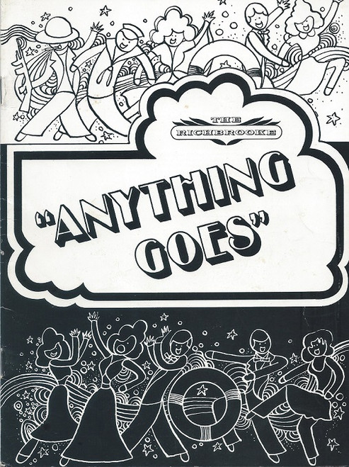 Anything Goes Australian Production 1971, Ron Frazer, Toni Lamond, Barbara Wyndon, Raymond Duparc, Robina Beard, Directed by Noel Tovey - The Richbrooke Sydney