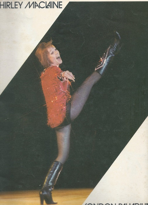 Shirley MacLaine London Palladium 1977, Souvenir Brochure MacLaine made her debut in the Alfred Hitchcock film The Trouble with Harry (1955), for which she won the Golden Globe Award for New Star Of The Year - Actress. In 1956, she had roles in Hot Spell and Around the World in Eighty Days.